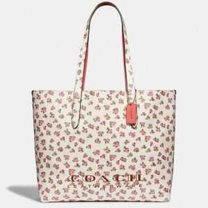 NEW Coach Highline Tote With Floral Print